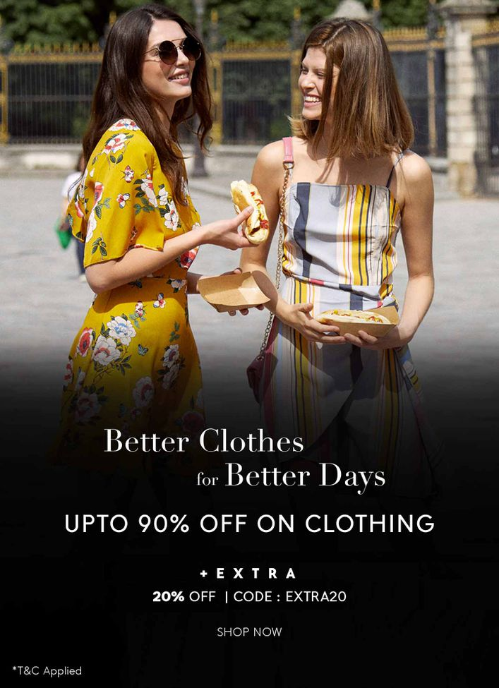FLAT 85% OFF ON CLOTHING