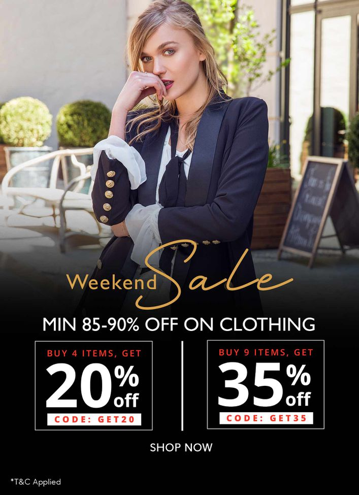 Clothing 85-90% off