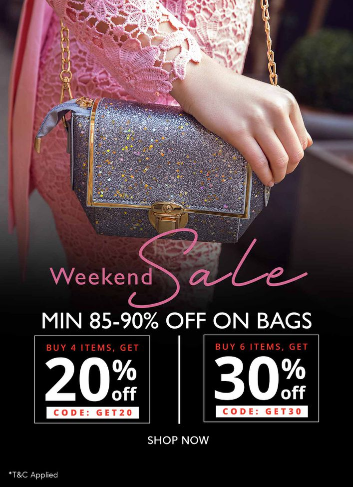 Bags 85-90% off
