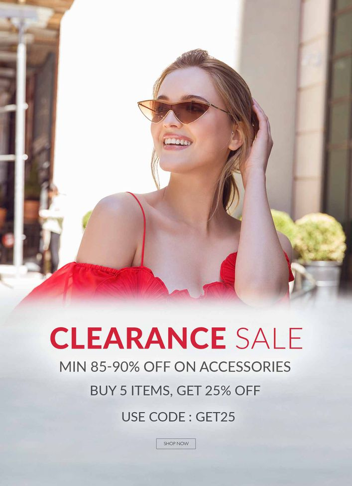Clearance Sale ACCESSORIES