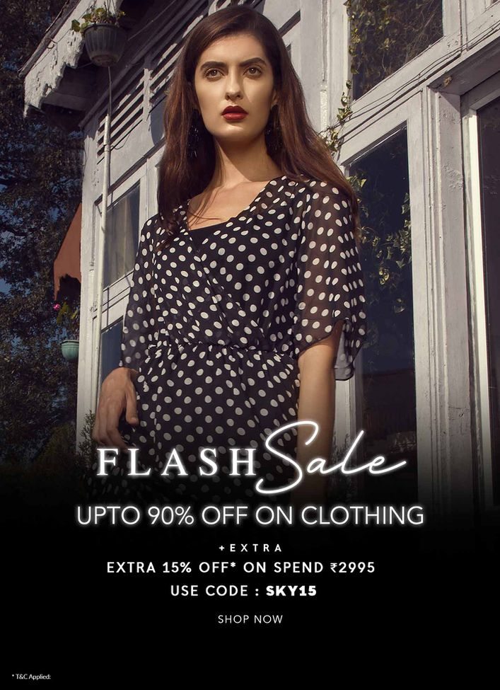 FLASH SALE UPTO 90% OFF ON CLOTHING